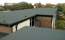 build up felt roofing
